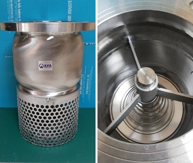 Foot Valve Stainless Steel Flanged End Titan Industech