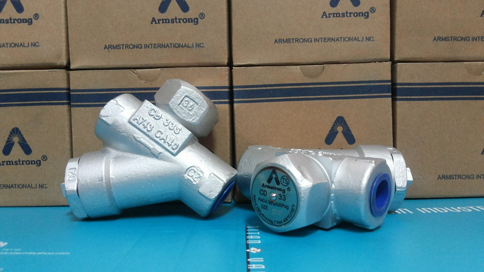 Armstrong Thermodynamic Disc Steam Trap Cd 33s Cd 33