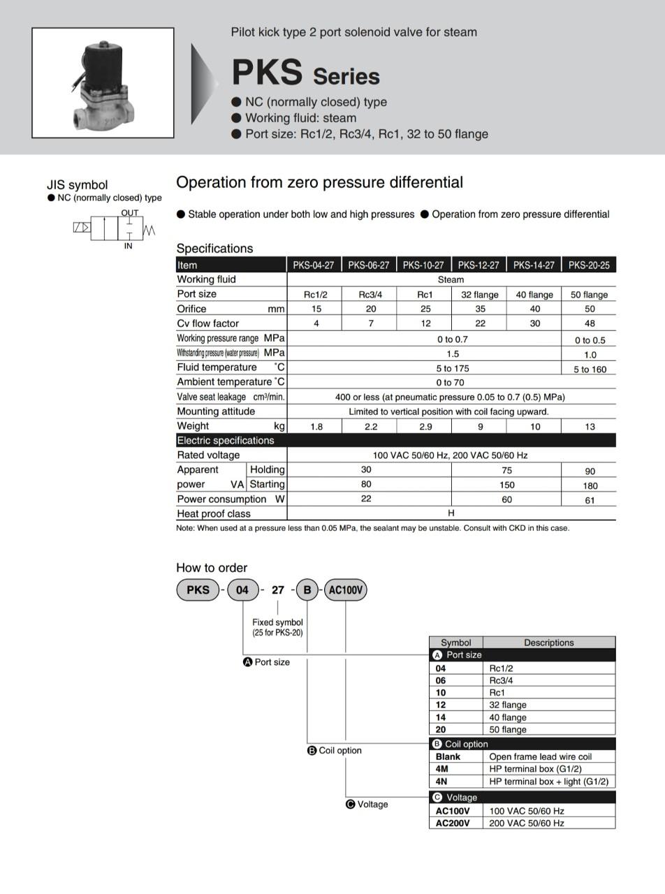 Ckd solenoid valve pks 14 27 220vac titan industech coltd ckd solenoid valve pks 14 27 220vac biocorpaavc Choice Image