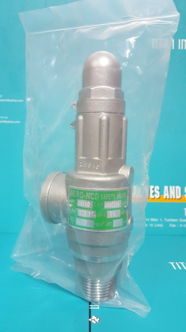 SAFETY AND RELIEF VALVE STAINLESS STEEL - TITAN INDUSTECH CO ,LTD